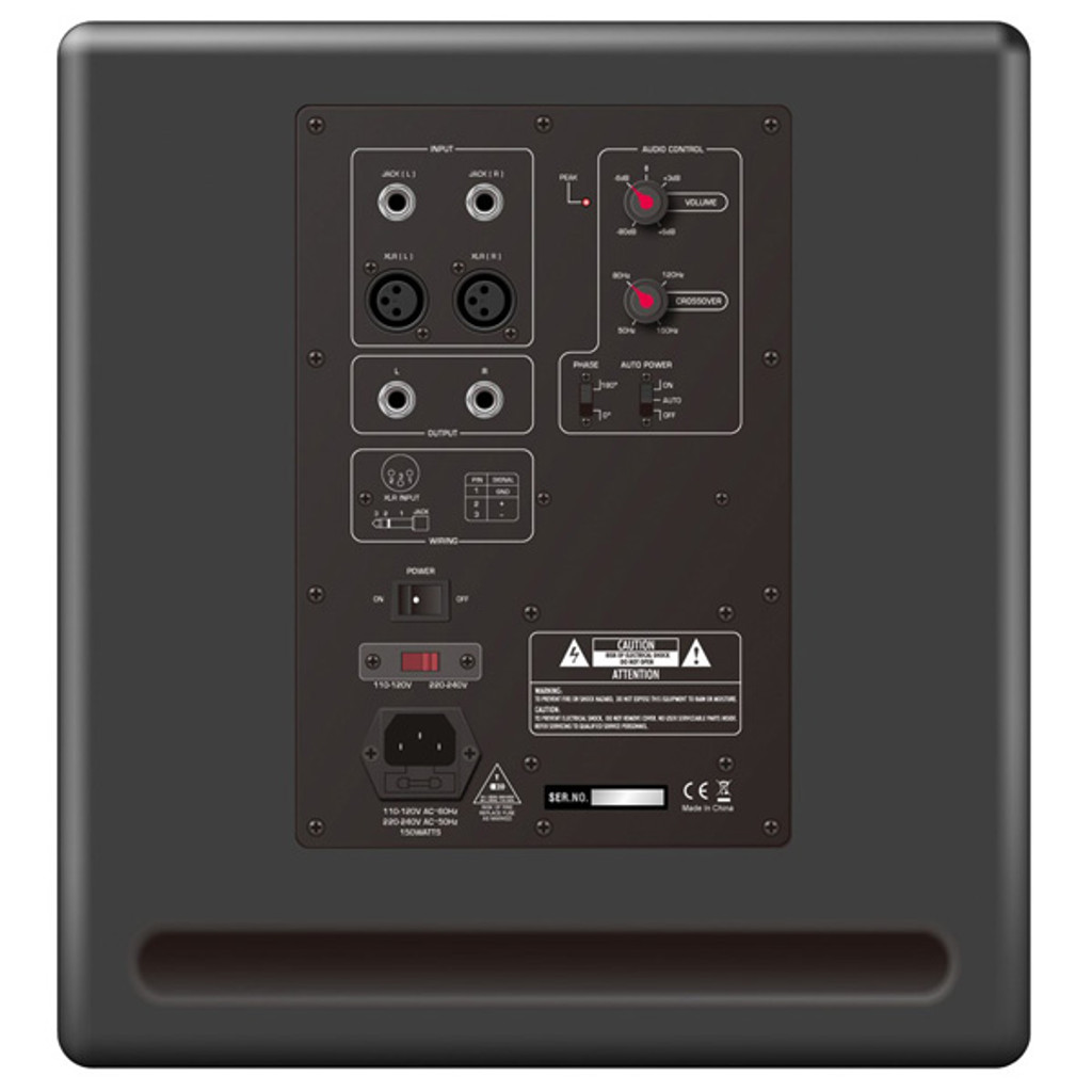 AVE Fusion10S Powered Studio Monitor Subwoofer