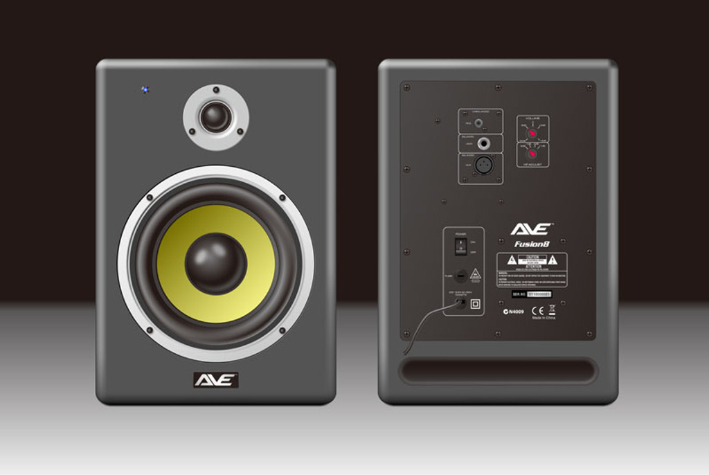 AVE Fusion8 Powered Studio Monitor