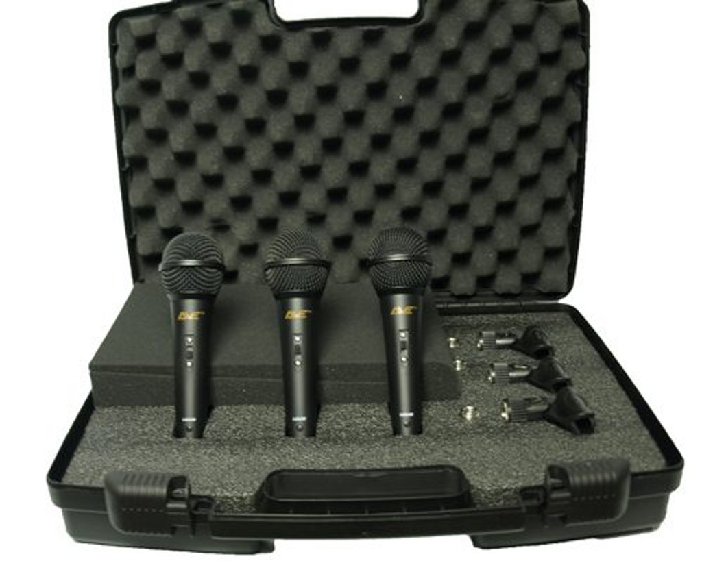 AVE VOX-Pack Dynamic Microphone 3 Pack