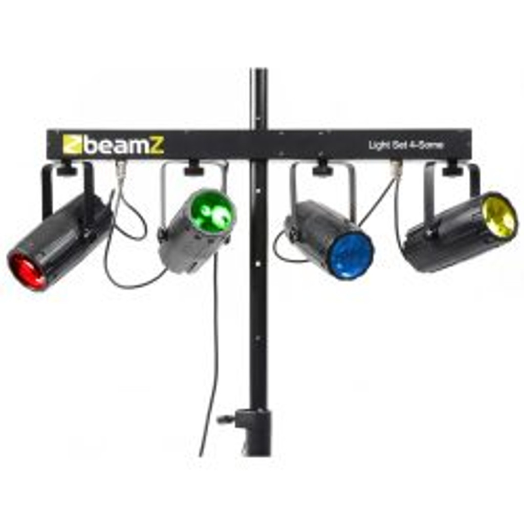 Beamz 4Some LED DJ Effect Light 4-Set