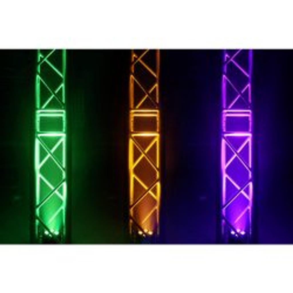 Beamz BAC404 Hex Colour LED Par Can Black