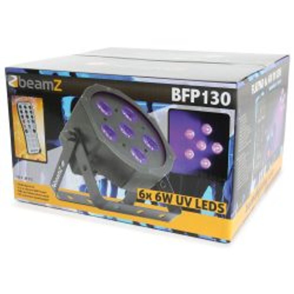 Beamz BFP130 6x6W UV LED Parcan