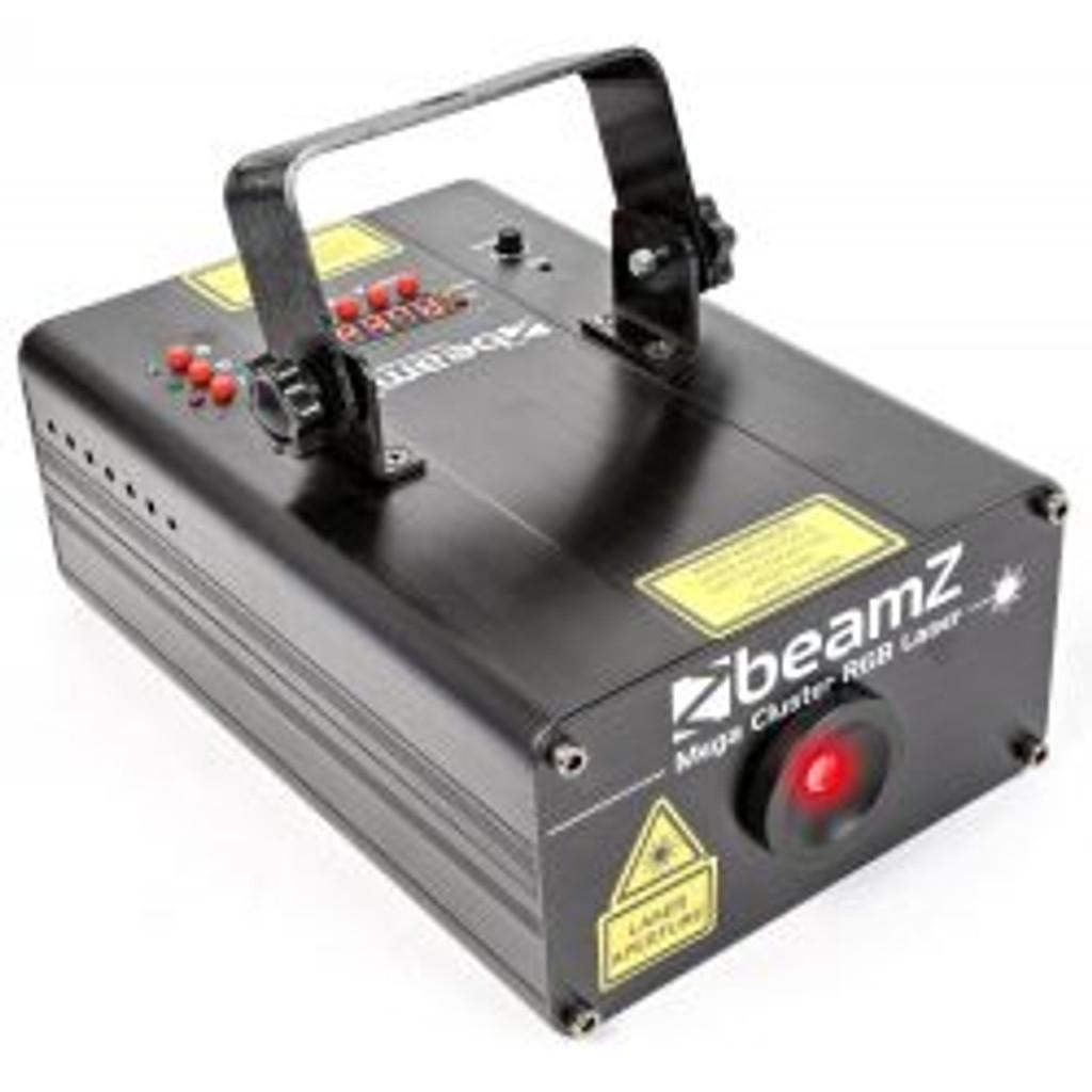 Beamz MegaCluster RGB Multi Point Laser Light