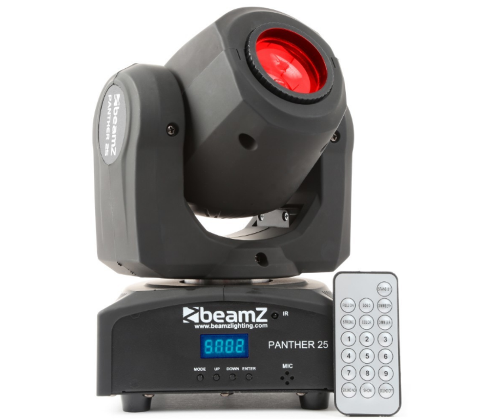 Beamz Panther-25 LED Moving Head Spot