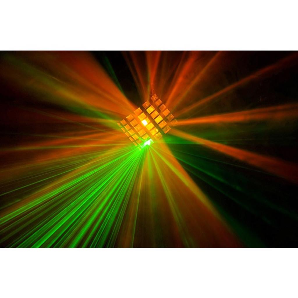 Beamz Radical LED DJ Effect Light with Laser