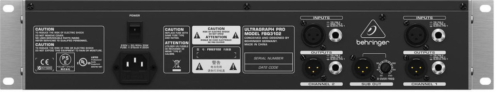 Behringer Ultragraph Pro FBQ3102