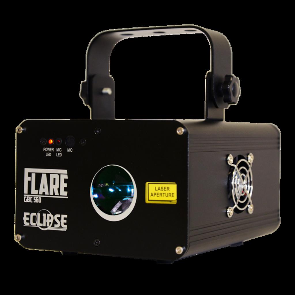 Eclipse Flare GBC Pattern Laser