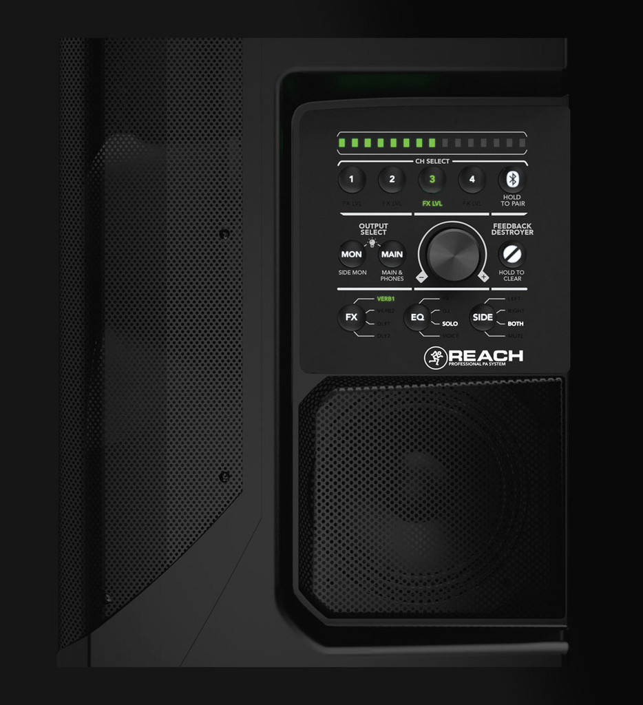 Mackie Reach Professional All In One PA System