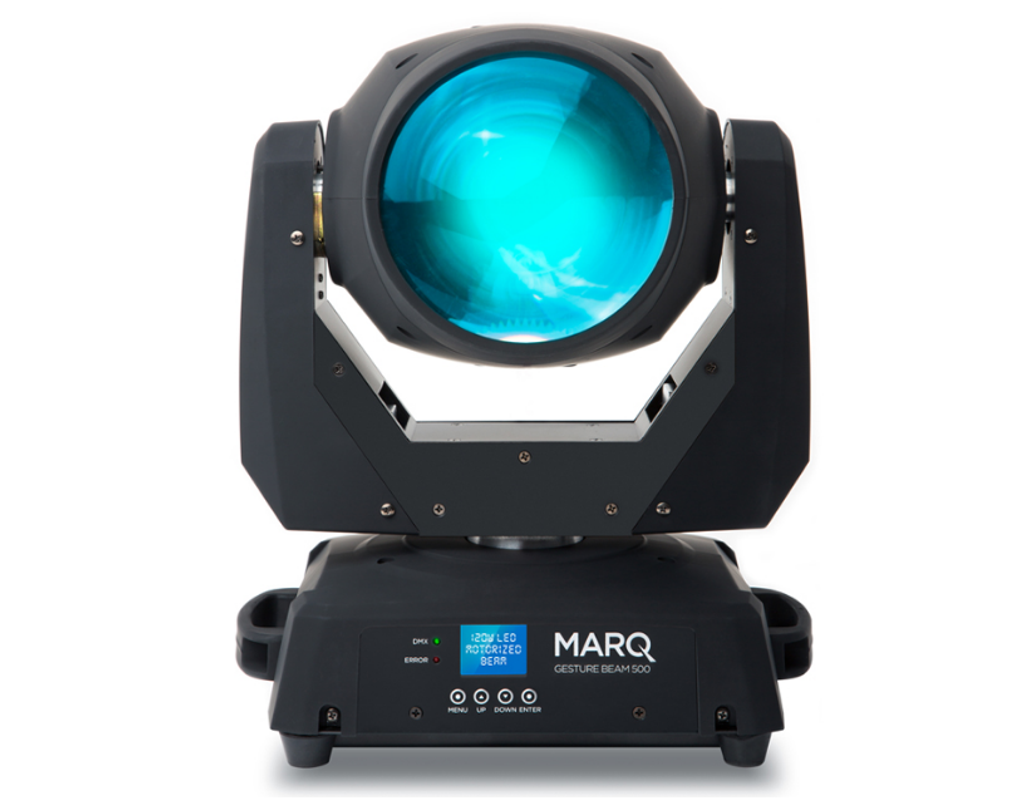 MarQ Gesture Beam 500 120W LED Moving Head
