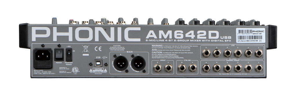 Phonic AM 642D USB