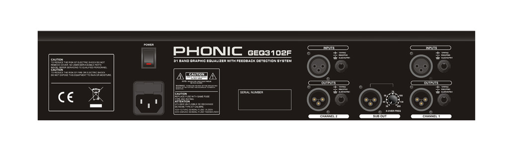 Phonic GEQ 3102F
