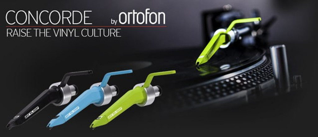Reloop Ortofon Concorde Green Stylus and Cartridge