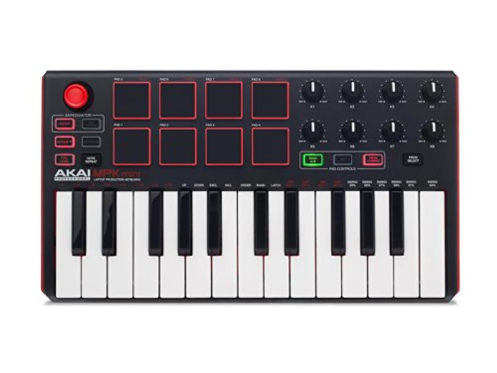 Akai MPK MINI MK2 25 Key USB MIDI Keyboard & Pad Controller