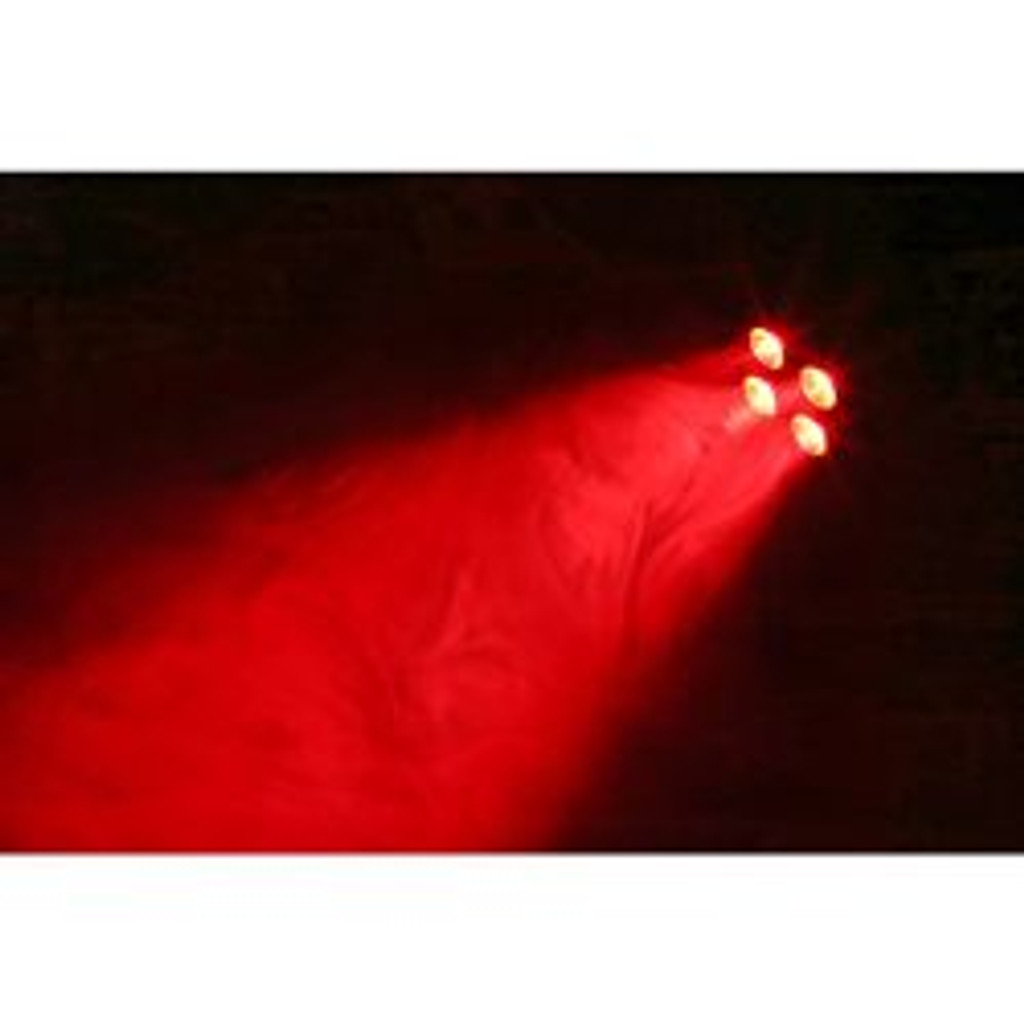Beamz BAC404 Hex Colour LED Par Can – Black