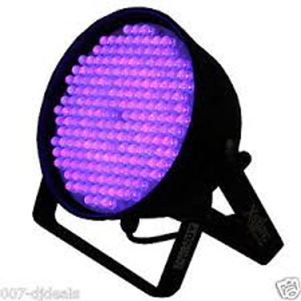 XStatic Pro Lighting UV LED PAR 64UV Par Can Up Lighting DJ Club Stage