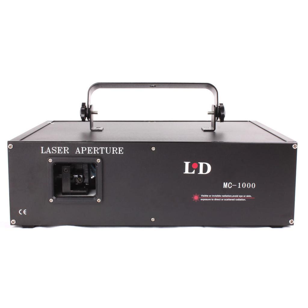MOS CASA 1000mw LASER RGB DMX512 ILDA