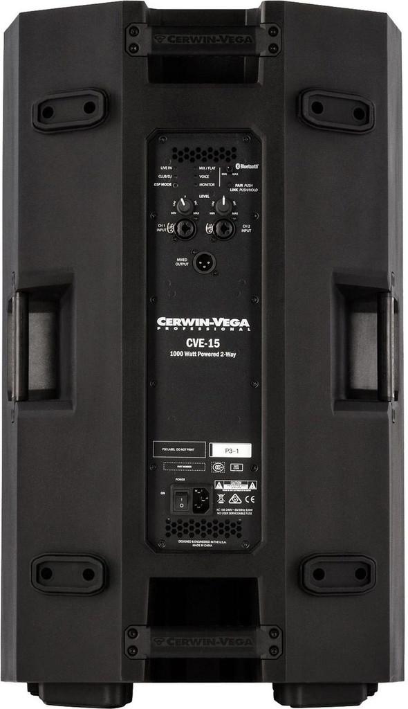Cerwin Vega CVE-15 powered Loudspeaker 1000 watts
