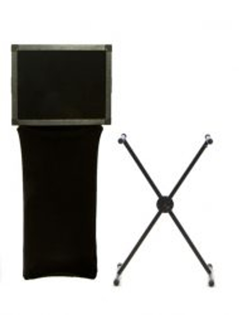 Scrim King SS-XST01-B Keyboard X Stand Scrim  Black