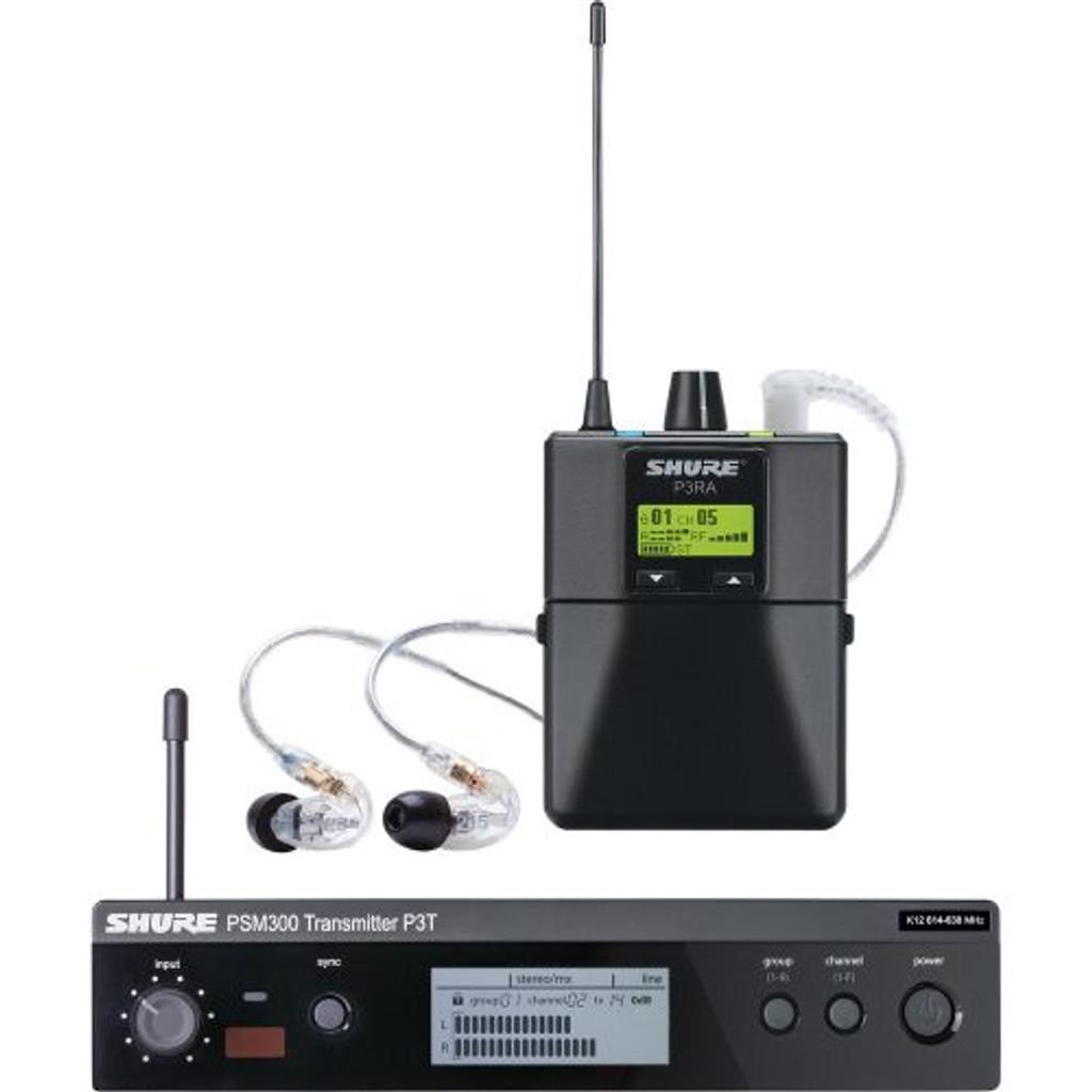Shure P3TRA215 Sound Isolating Earphones