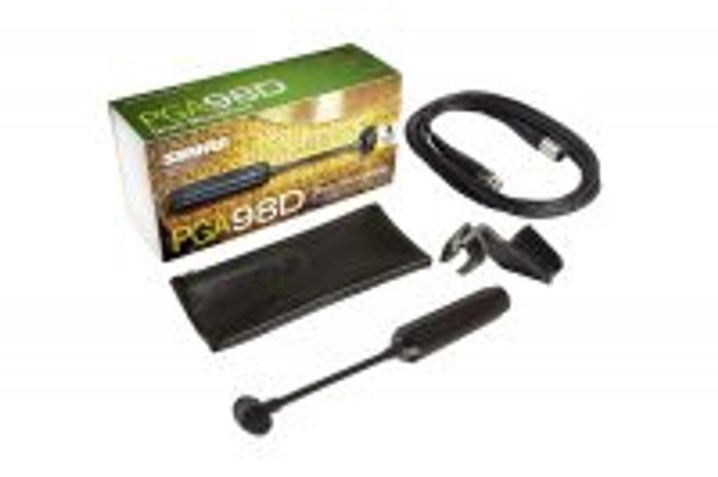 Shure PGA98D XLR Cardioid Condenser Drum Microphone