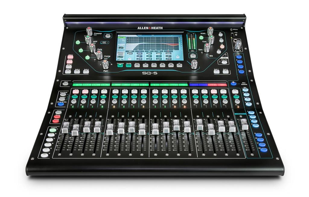 Allen & Heath SQ-5 Digital Mixer  48ch, 96kHz