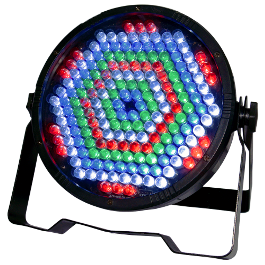 AVE Quad-Flat LED RGBW Par Can