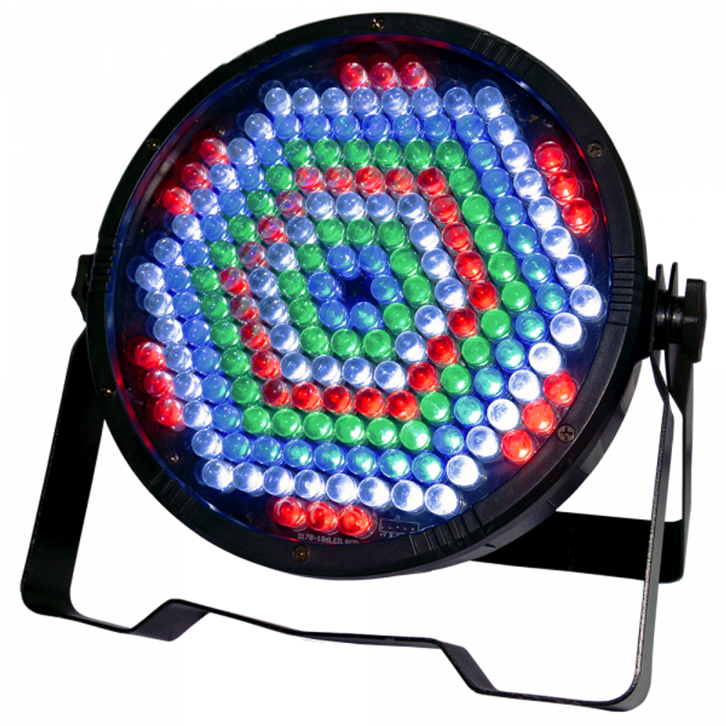 AVE Quad-Flat LED RGBW Par Can