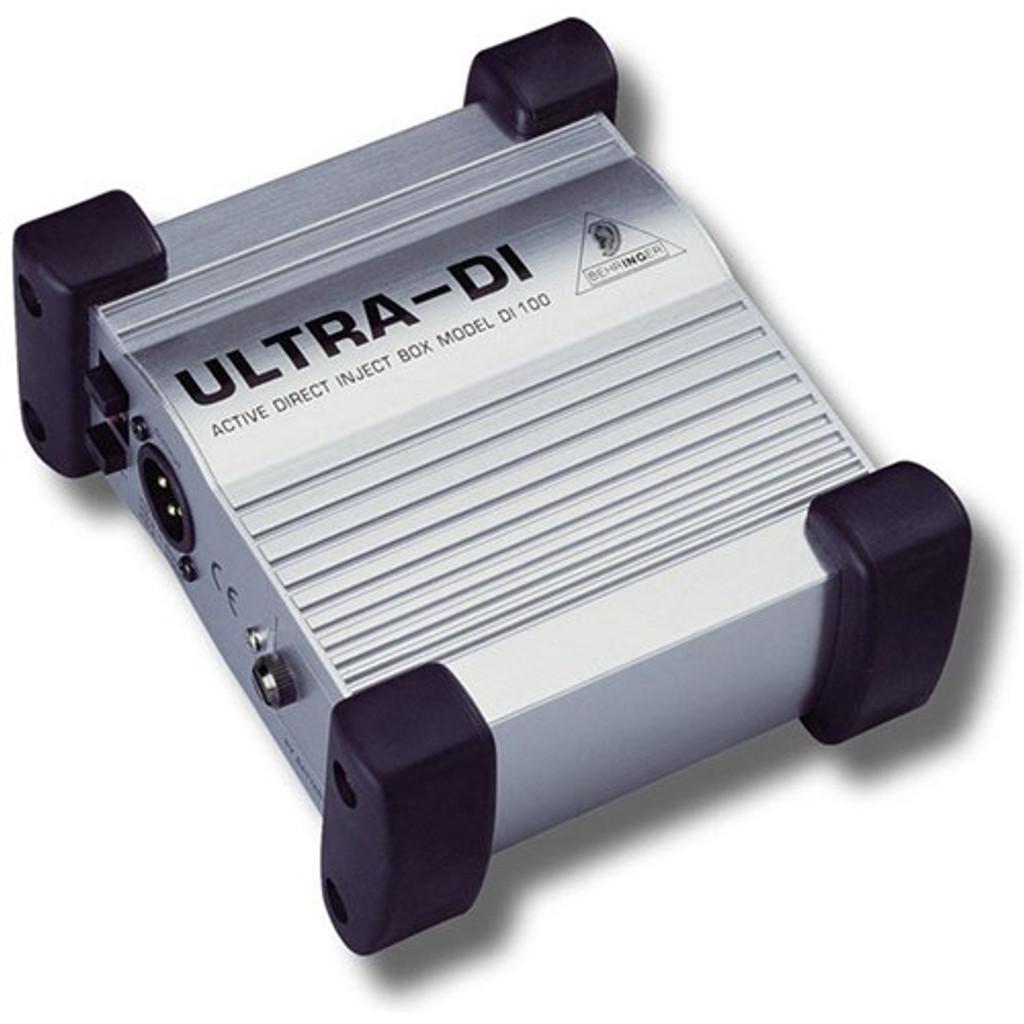 Behringer Ultra-DI DI100 BatteryPhantom Powered DI-Box