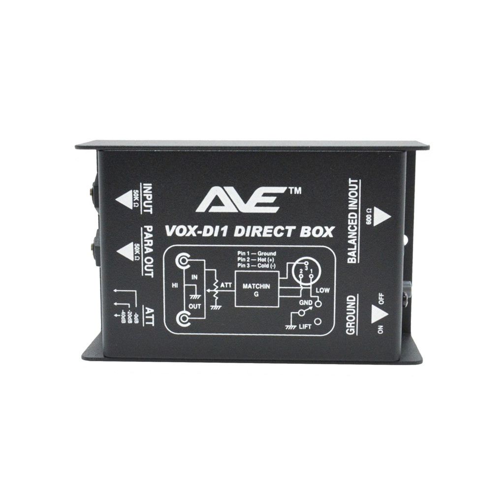 AVE VOX-DI1 Passive DI Box