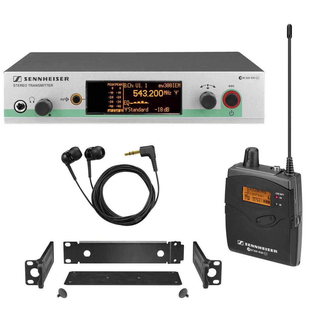 Sennheiser EW300 G3-A IEM System  (B Band, 626-668 MHz)