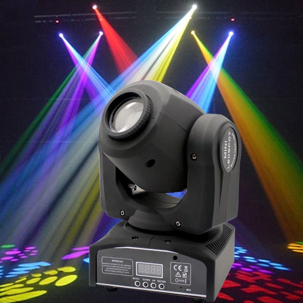 Raven 60W RGBW LED Moving Head Stage Light DMX 512 DJ