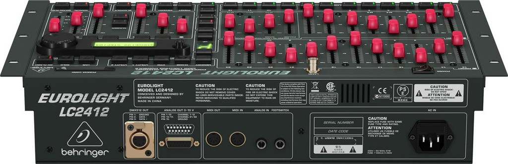 Behringer Eurolight LC2412 24-Ch DMX Lighting Console