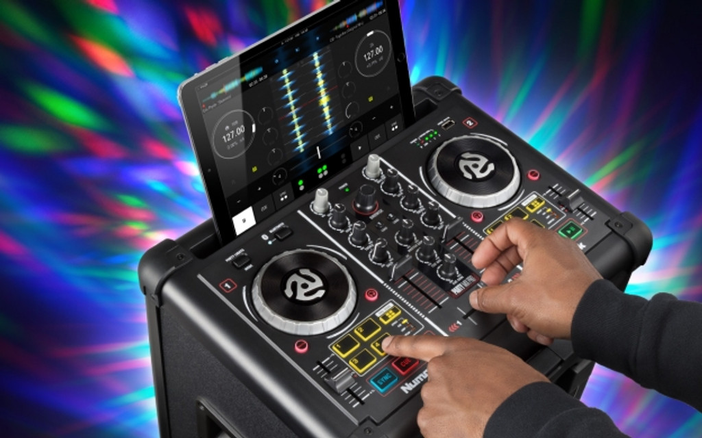 Numark Party Mix Pro  Dj Controller With Built-In Light Show & Portable