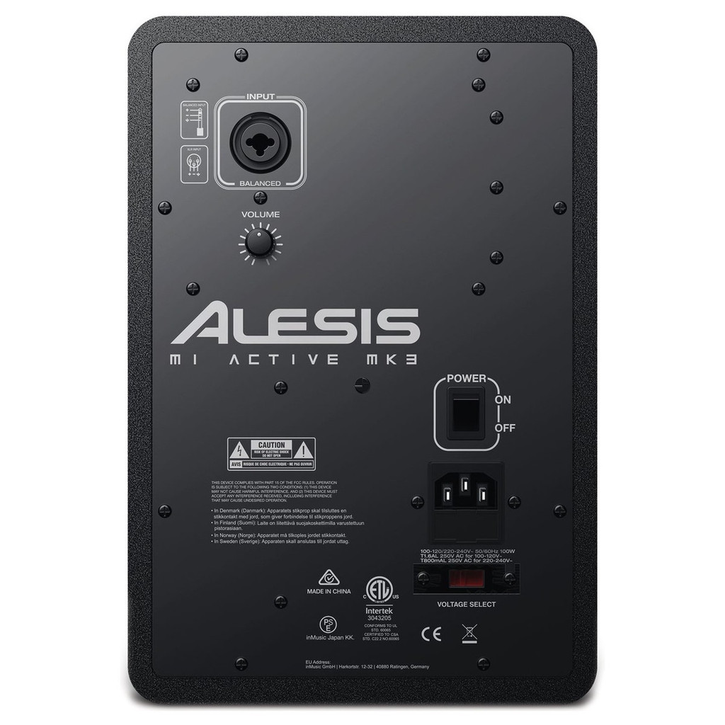 Alesis M1 MK3 Pair Studio Monitors 5 Inch