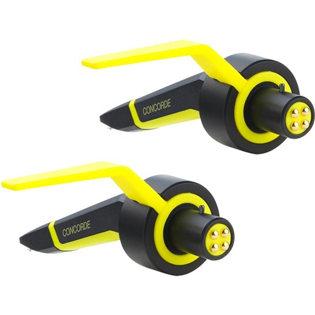 Ortofon Concorde MKII Club Cartridge - Black/Yellow (Twin)