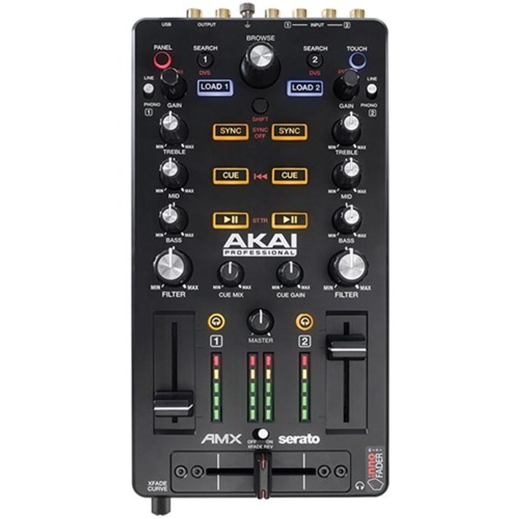 Akai AMX Mixing Surface w/ Audio Interface For Serato DJ