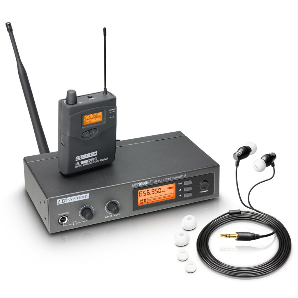 LD Systems MEI1000G2 B5 Wireless In-Ear Monitoring System