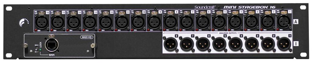 Soundcraft Si Mini Stage Box 16 Cat 5