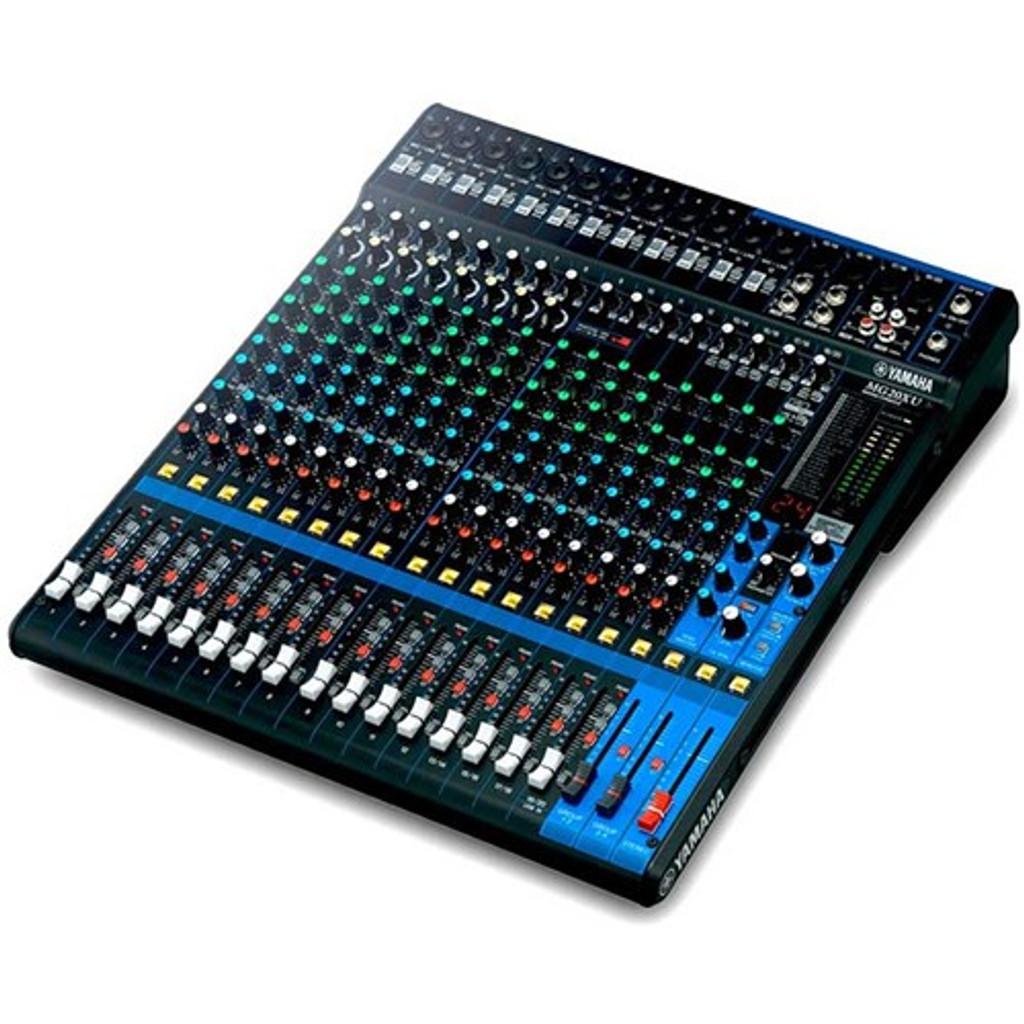 Yamaha MG20XU 20 Input Mixer w/ FX & USB Audio Interface