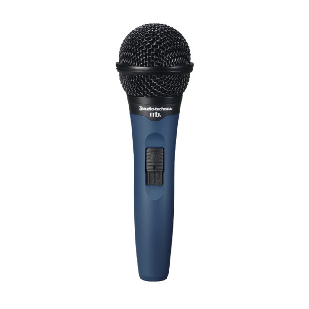 Audio Technica midnight blues MB1KC neodymium cardioid dynamic vocal microphone
