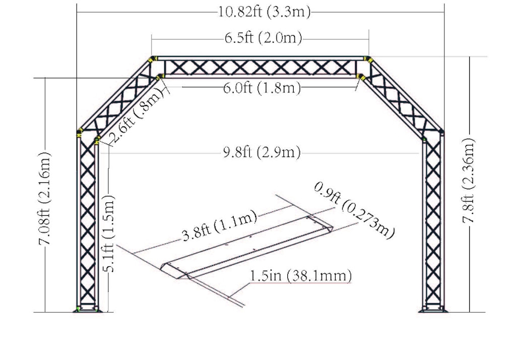 TRUSST-ARCH ARCH TRUSS KIT