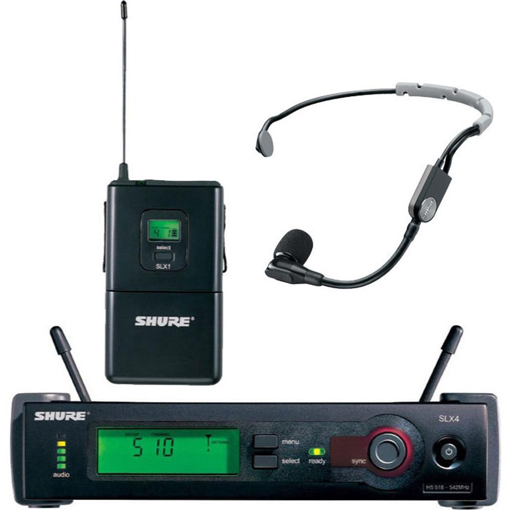 Shure SLX14/S35 Wireless Mic Bodypack System (L4: 638-662MHz)