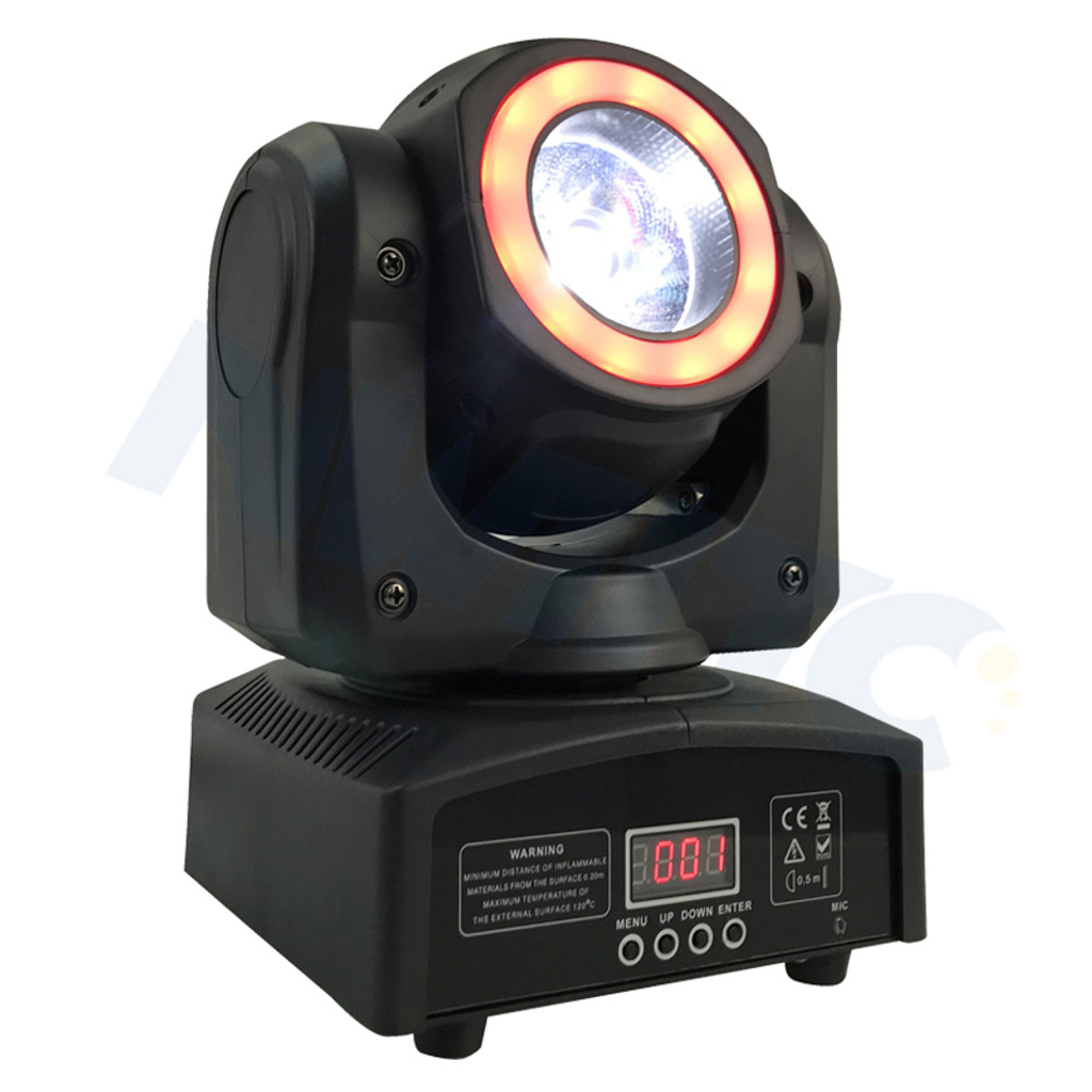 Halo M.O.S Led Moving Beam Light,Mini Moving Head,1x60w 4IN1 RGBW And 12pcs SMD 3IN1 Led Moving Wash LED Light