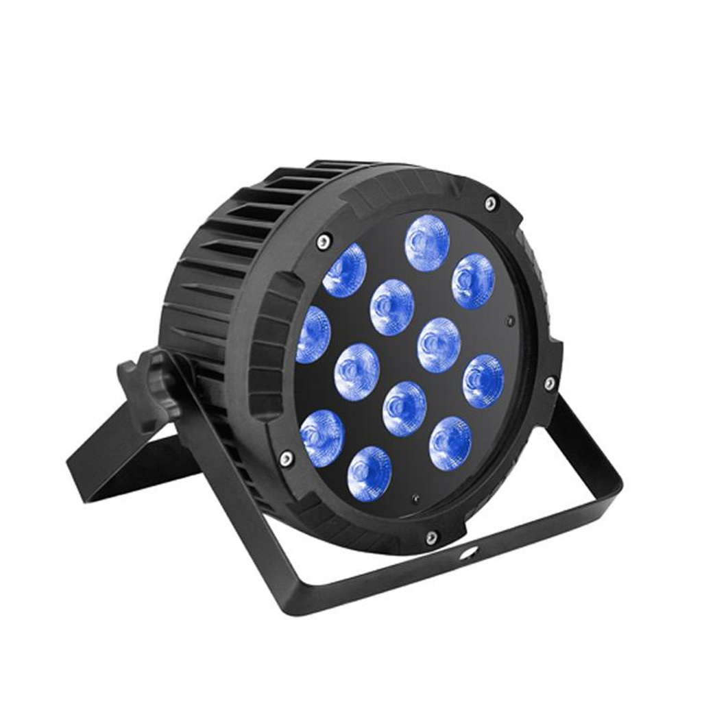 M.O.S Bravo 12  (PAR LED 12x10 Watts    RGBW 4 in 1 DMX-512)