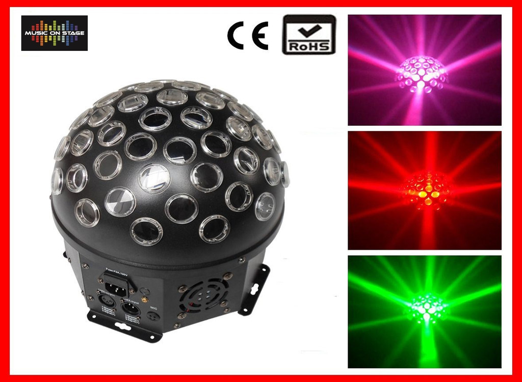 Super-Nova M.O.S LED RGBW 4in 1 DMX