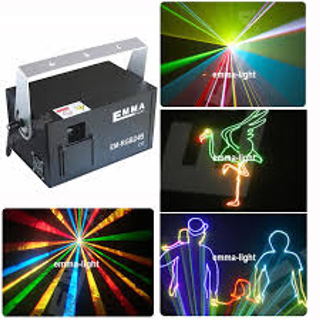 1500mw LASER RGB DMX512 ILDA
