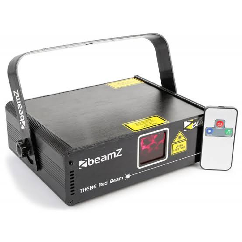 Beamz Thebe RED Pattern Laser 150mW