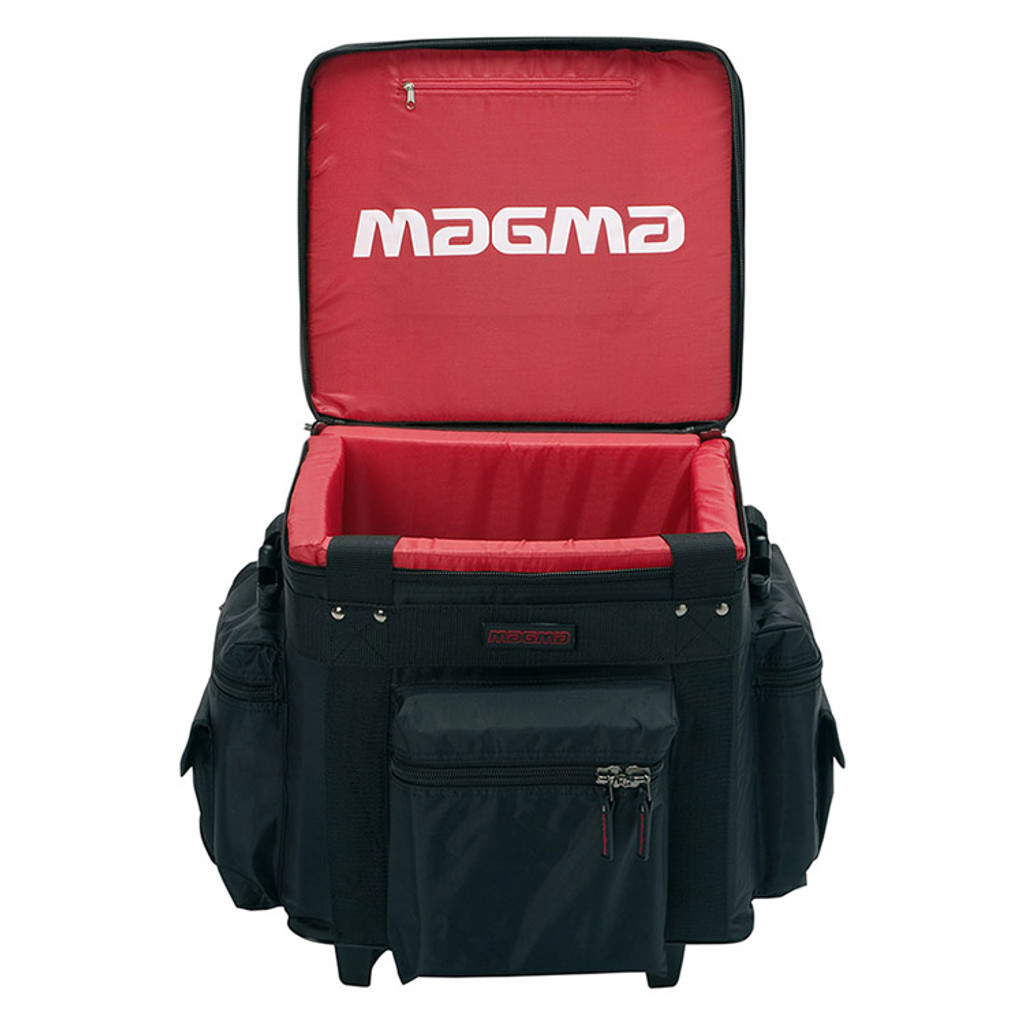 Magma 40540 12″ Record Case Holds 90 – Black/Red