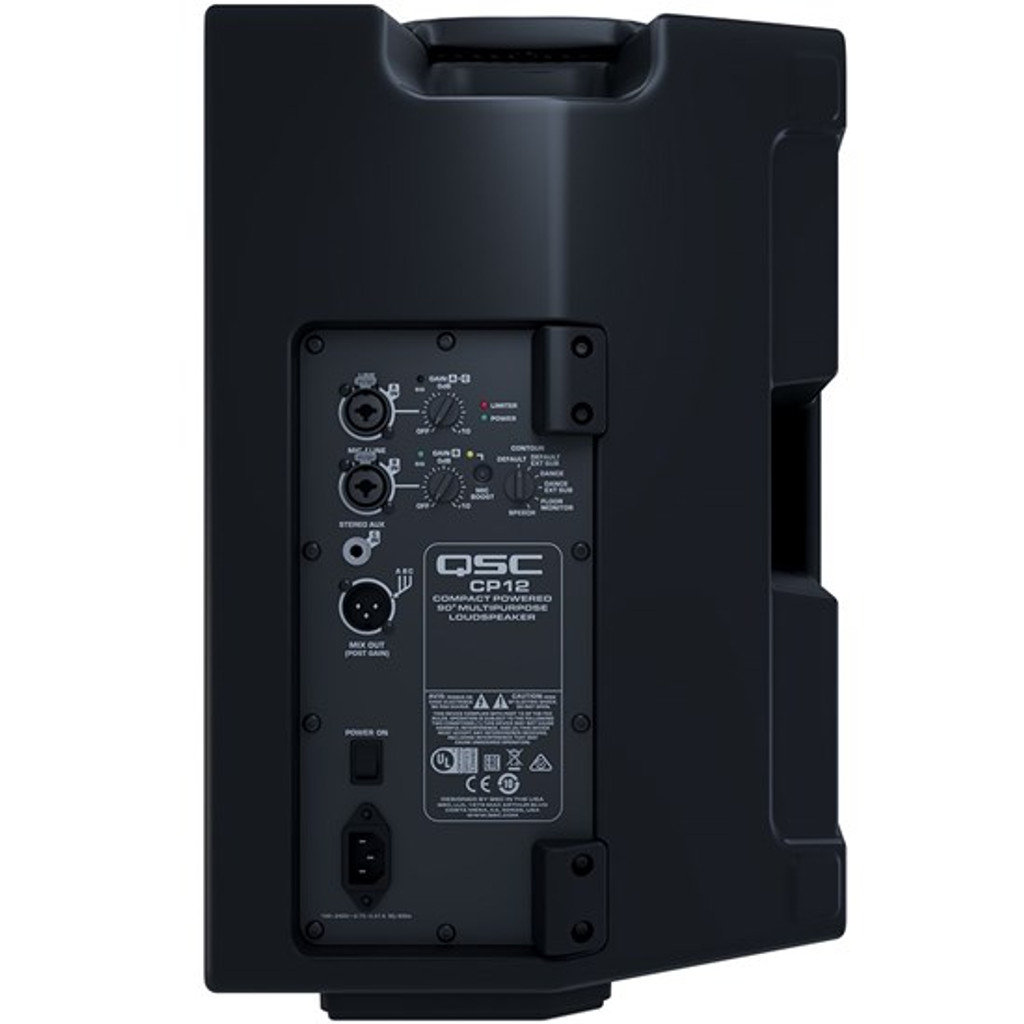 """QSC CP12 12"""" 2-Way Powered (1000W) Portable PA Speaker Product Code QSC-CP12"""