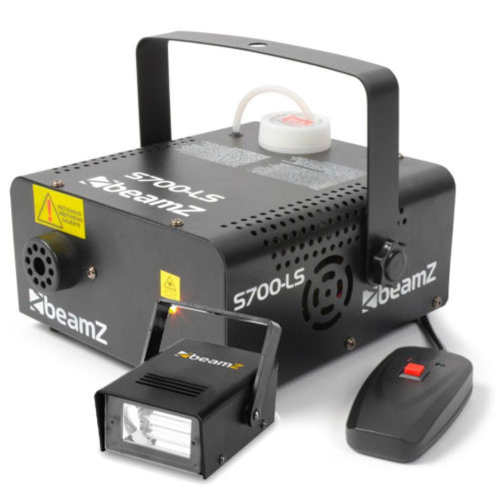 Beamz S700-LS Smoke Machine with FREE Ministrobe